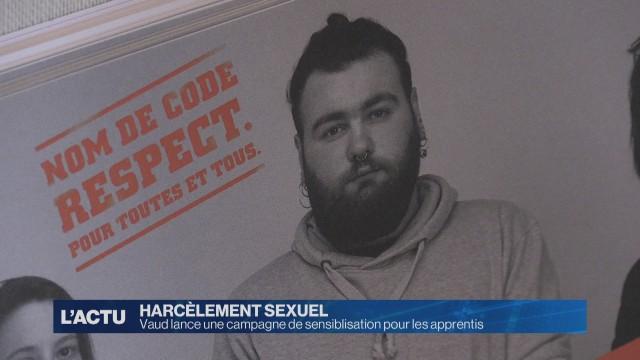 Vaud lance une campagne contre le harcèlement sexuel