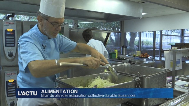 Bilan du plan de restauration collective durable lausannois
