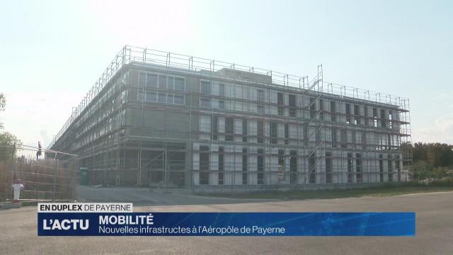 Nouvelles infrastructures à l'Aéropôle de Payerne