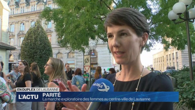 Une marche exploratoire pour les femmes à Lausanne
