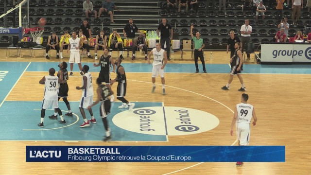 Fribourg Olympic retrouve la Coupe d'Europe