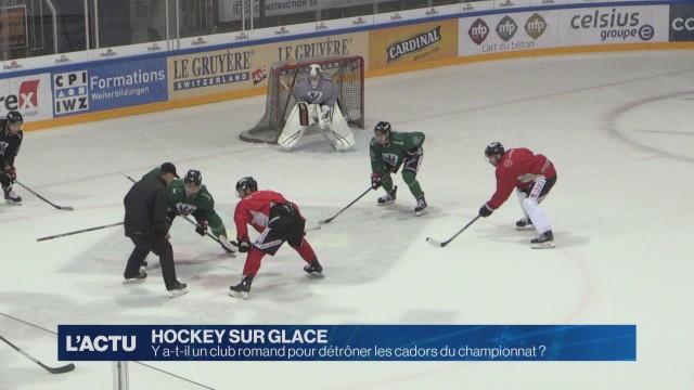 Hockey sur glace: c'est la rentrée !