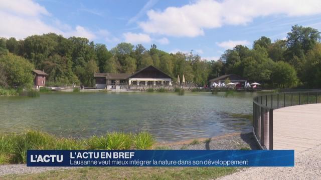 Lausanne veut intégrer la nature dans son développement