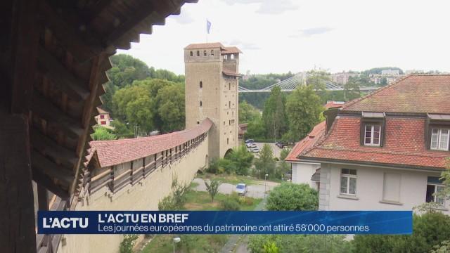 58'000 personnes aux journées européennes du patrimoine