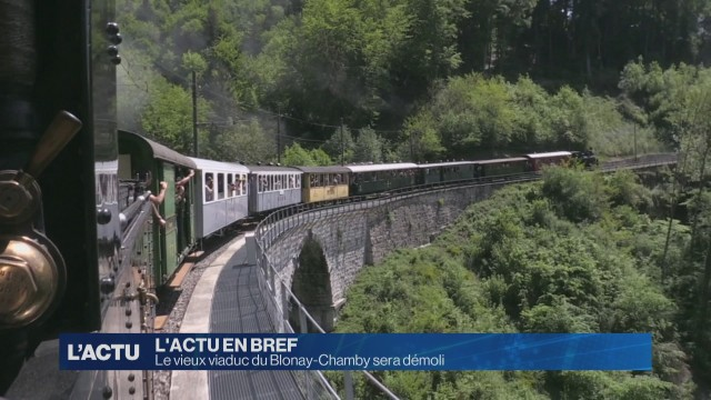 Le vieux viaduc du Blonay-Chamby sera démoli