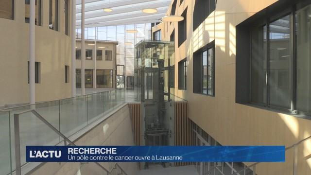 Un pôle contre le cancer ouvre à Lausanne