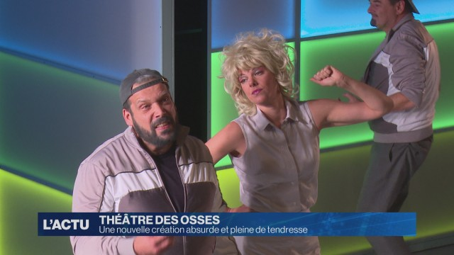 Une nouvelle création absurde et tendre au Théâtre des Osses