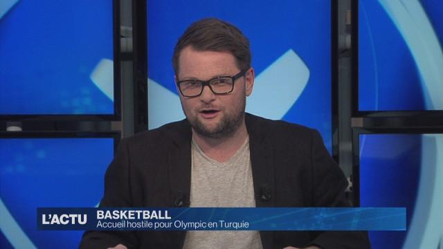 Accueil hostile pour Olympic