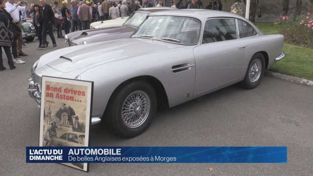 L'Aston Martin de James Bond, star d'un meeting à Morges