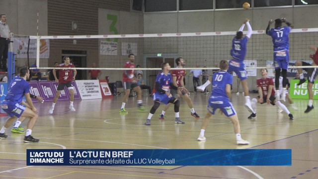 Surprenante défaite du LUC Volleyball