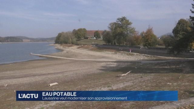 Lausanne veut une nouvelle usine de pompage d'eau
