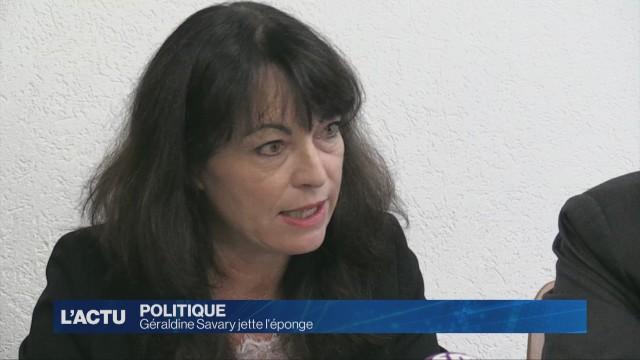 Géraldine Savary jette l'éponge