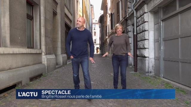 Brigitte Rosset parle de son amitié avec Frédéric Recrosio