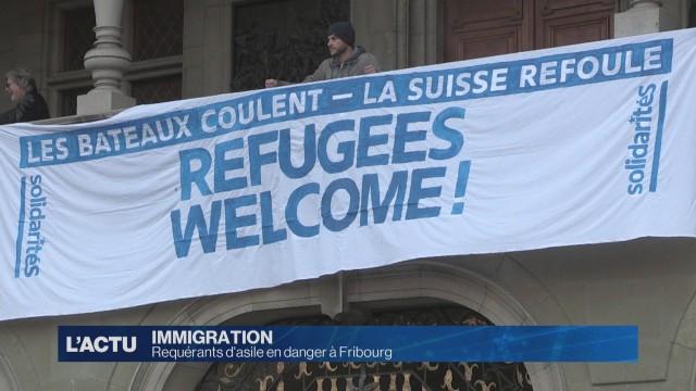 Situation délicate pour les requérants à Fribourg