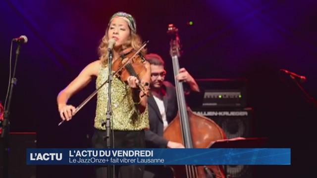 Le JazzOnze+ fait vibrer Lausanne
