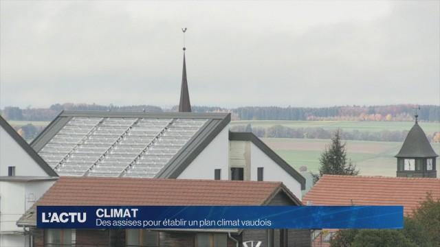 Vaud accueille ses premières assises du climat.