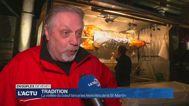 La veillée du bœuf lance les festivités de la St-Martin