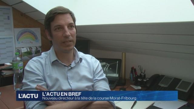 Nouveau directeur à la tête de la course Morat-Fribourg