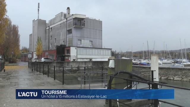 Hôtel à 15 millions à Estavayer-Le-Lac
