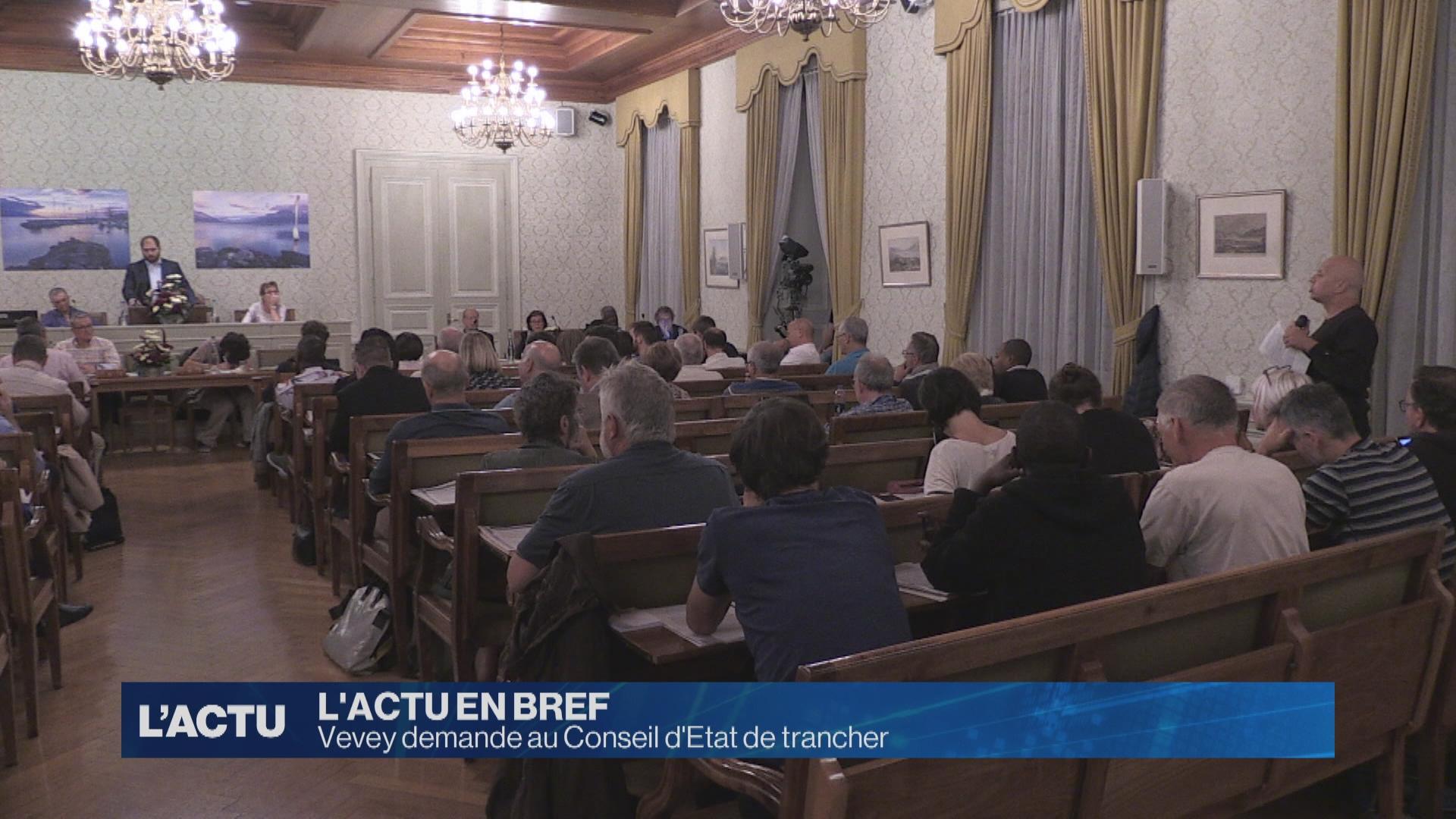 Vevey demande au Conseil d'Etat de trancher