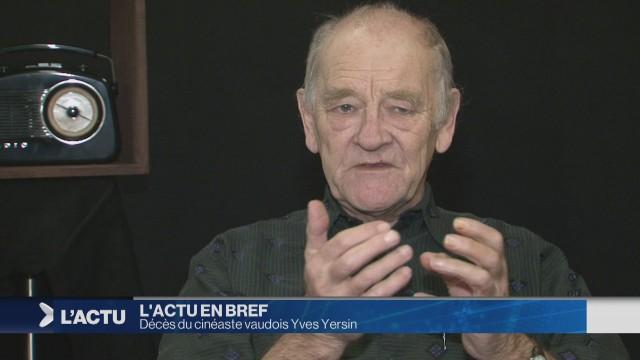 Décès du cinéaste vaudois Yves Yersin