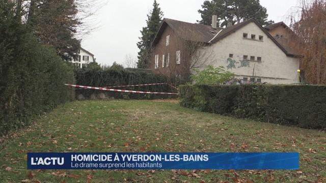 Retour sur le drame de ce week-end à Yverdon-les-Bains