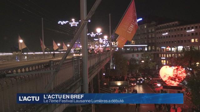 7ème édition du Festival Lausanne Lumière