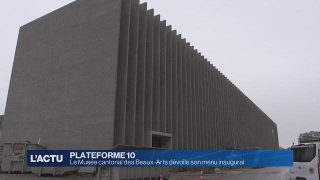 Le Musée cantonal des Beaux-Arts ouvrira en 2019
