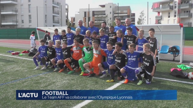 Le Team AFF va collaborer avec l'Olympique Lyonnais