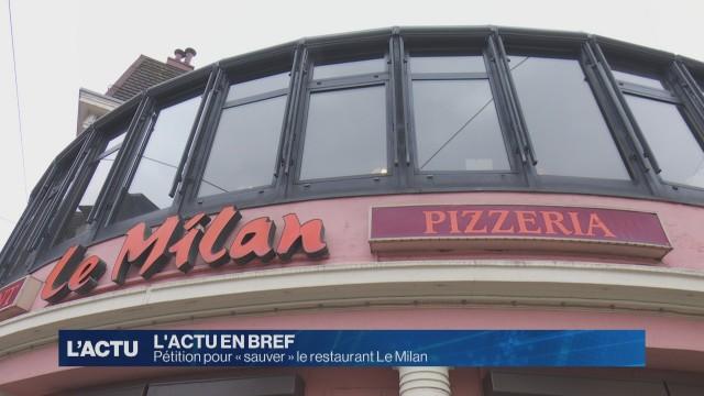 Pétition pour « sauver » le restaurant Le Milan