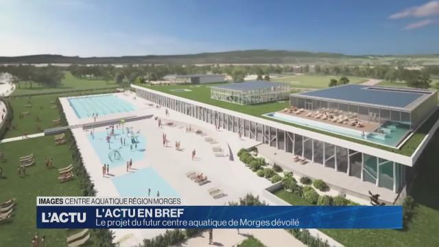 Le projet du futur centre aquatique de Morges dévoilé