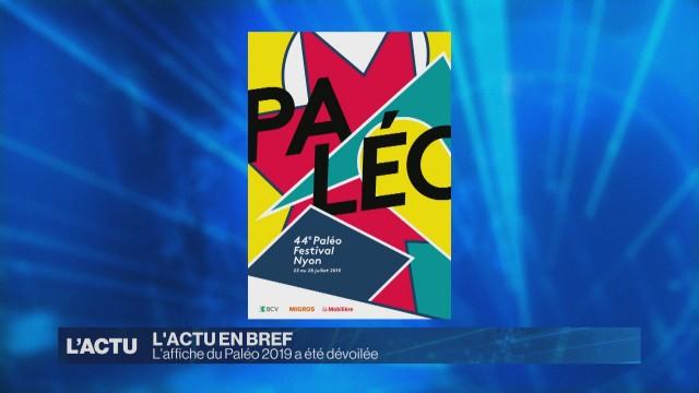 L'affiche du Paléo 2019 a été dévoilée