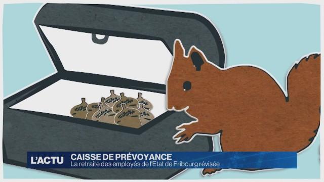 La retraite des employés de l'Etat de Fribourg révisée
