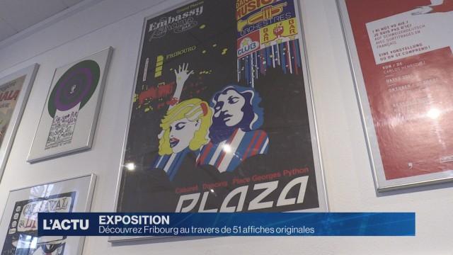 Fribourg se dévoile en affiches