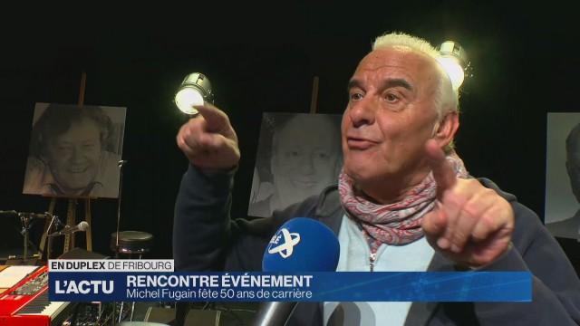 Michel Fugain fête 50 ans de carrière