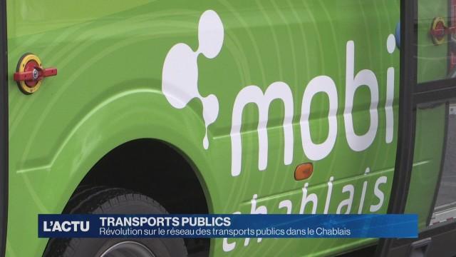 11 nouvelles lignes de bus dans le Chablais