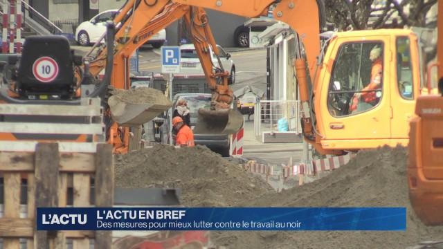 Fribourg veut mieux lutter contre le travail au noir
