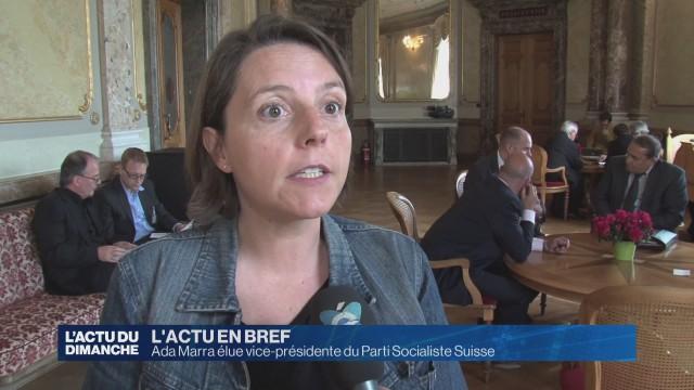 Une nouvelle vice-présidente pour le Parti socialiste suisse