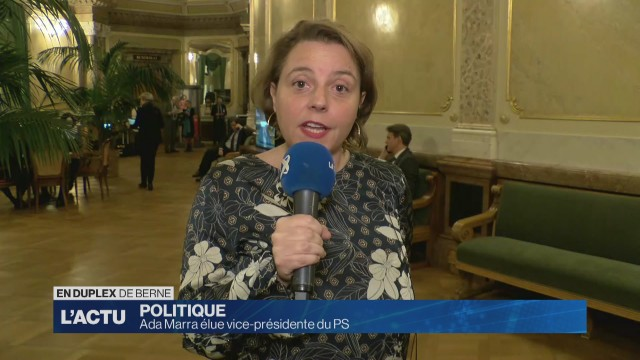 Ada Marra élue vice-présidente du PS suisse