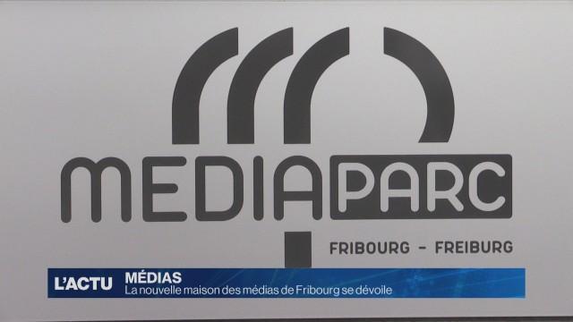 La nouvelle maison des médias de Fribourg se dévoile
