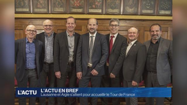 Grande Boucle espérée entre Aigle et Lausanne