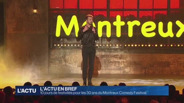 Le Montreux Comedy Festival célébrera ses 30 ans en 2019