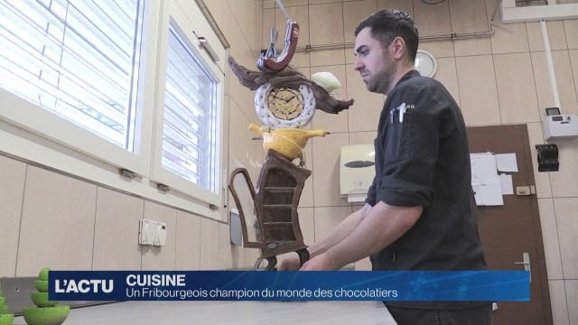 Un chocolatier fribourgeois champion du monde