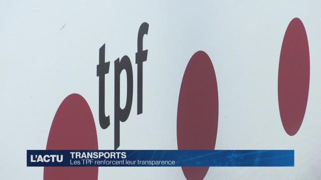 Les TPF renforcent leur transparence