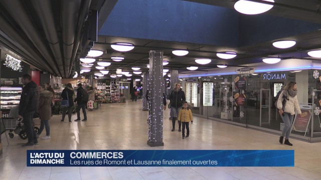 Certains magasins ont ouvert le 8 décembre