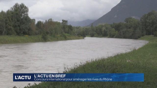Concours international pour aménager les rives du Rhône