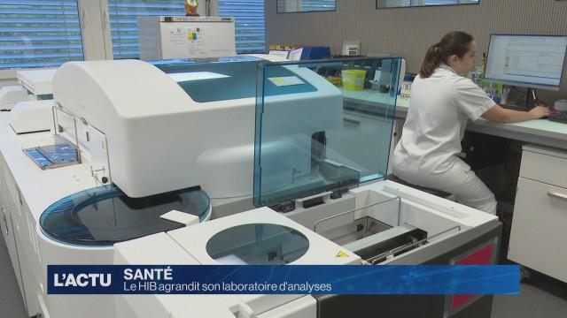 Le HIB agrandi son laboratoire d'analyses