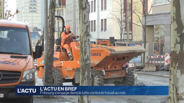 Fribourg s'engage dans le lutte contre le travail au noir