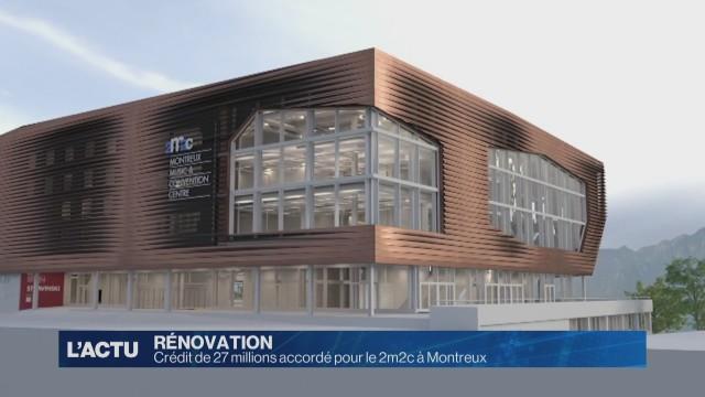 Le 2m2c de Montreux en attente d'être rénové