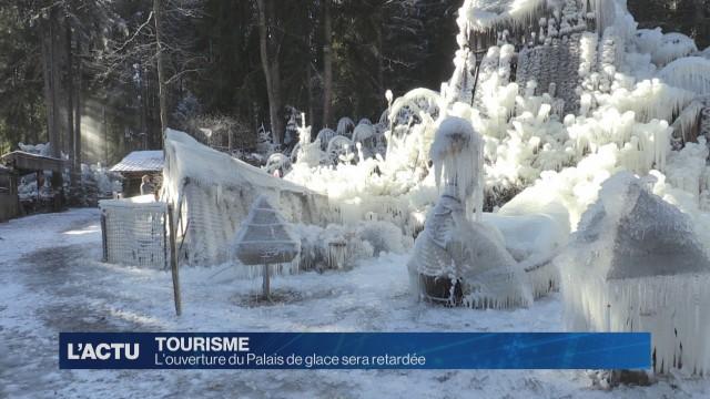 L'ouverture du Palais de glace sera retardée